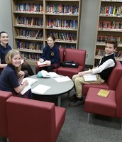 Gr 7 small group in Reading English Language Arts
