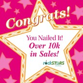 This incredible stylist sold $15,000+ PQV, scored a 35% commission bump, and earned $300 Product Credit!