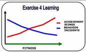Negative Behaviours Decline with Fitness