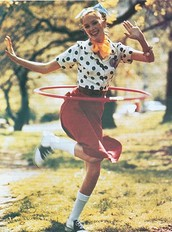 The Hula-Hoop in 1957