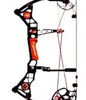 This is my bow that I'm shooting at my targets