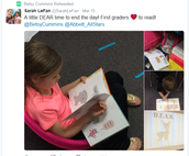 """Something to think about...How often do we give our students time to """"Drop Everything and Read?"""""""