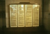 A replica of the 95 Theses