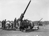 The British Artillery Gun