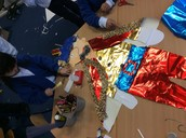 Making a king for our castle!