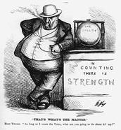 Political Cartoon of Tweed
