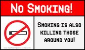 Smoking Can Kill Thoses Around You