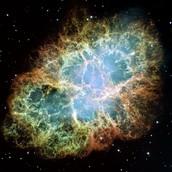 Supernova exploding