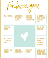 Kindness Game for Your Class