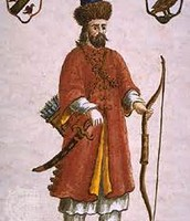 Marco Polo in Mongolian dress