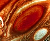 Up Close Picture of Jupiter's Red Spot