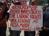 Protests against Abercrombie and Fitch