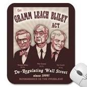 1999 Gramm-Leach-Bliley Act.
