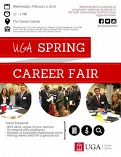 Career Development Spotlight: UGA Spring Career Fair