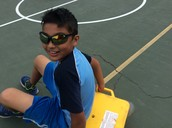 And Here Comes Muneer With His Shades!