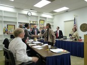 MS. KELLEHER IS CONGRATULATED BY THE ORANGE COUNTY SCHOOL BOARD