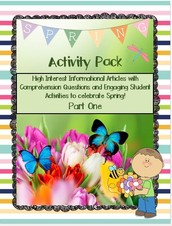 Spring is in the Air Activity Pack Freebie!