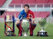 Messi's best three cups