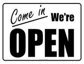 When We're Open: