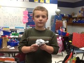 Malakye and his turtle!