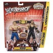 My favorite action figures were John Cena and the Undertaker.