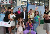 Freshmen as characters from UP!