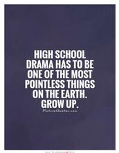 Teenage drama is a drama series with major focus on teenage characteristics.