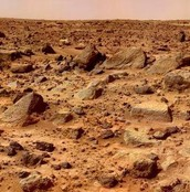 The Terrain On Mars
