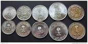 thier  coins
