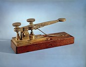 the telagraph that is used to use morse code