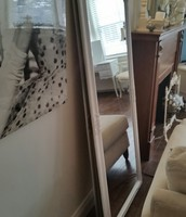 LARGE FLOOR LENGTH FRENCH PROVINCIAL MIRROR $199