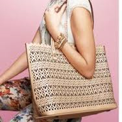 Avalon Tote - Blush Perf