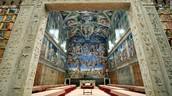 Inside of Sistine Chapel