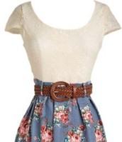 La primavera el vestido