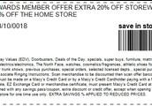 Extra 20% Off Storewide