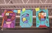 3rd Grade-Picasso Portraits