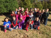 "Picking the ""perfect"" tree for VAES 1st grade!"