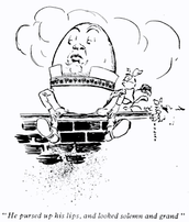 Humpty Dumpty Splattered