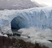 The Famous Glacier of Perito Moreno