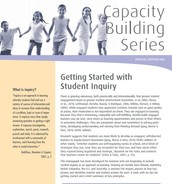 Getting Started with Student Inquiry