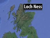 Location of Loch Ness
