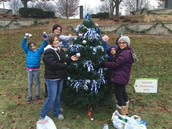 Our PTO sponsored a tree at Comstock Riverwalk. Please stop down to check it out. Lincoln Pride!