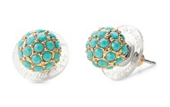 #5: Soiree Studs in Turquoise