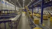 Nike distribution center