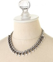 Lynx Pearl Necklace, Reg $69, Now $34
