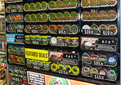 Many kinds of dip