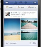 Facebook op je smartphone