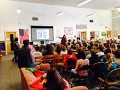 Kate Messner Author VIsit