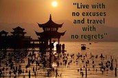 A quote that applies to Chinese'S experience
