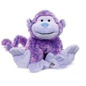 Purple Stuffed Monkey